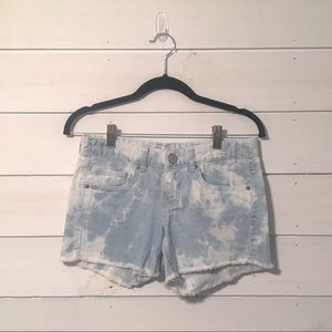Mossimo Acid Wash Jean Shorts -Fit 6